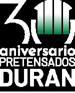 Logo 30 blanco vertical